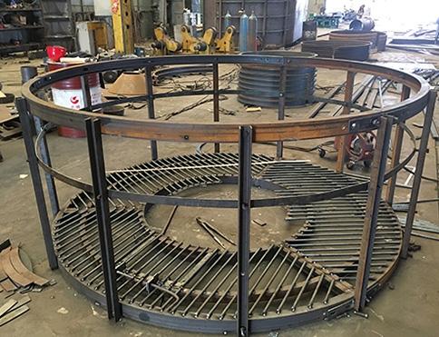 钢管杆平台
