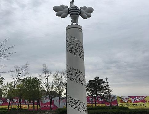 公园装饰结构
